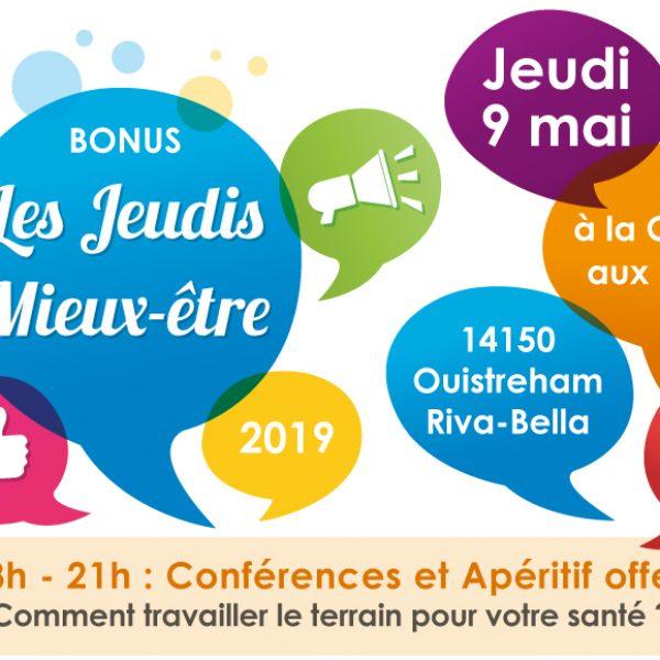 Conférence le jeudi 9 mai 2019 : «Comment travailler le terrain pour votre santé ?»