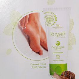 Crème pour les pieds Royer