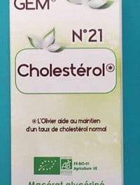 Gemmothérapie 21 Cholestérole